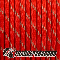 Paracord 550 - Imperial Red Glow in Dark