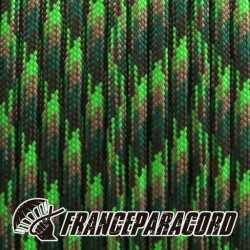 Paracord 550 - Neon Green Flame