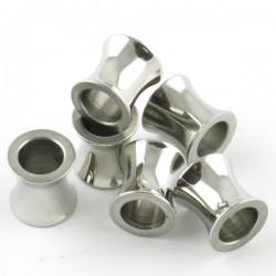 Perle concave inox 8*8mm