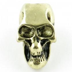 Tête de mort gold trou vertical