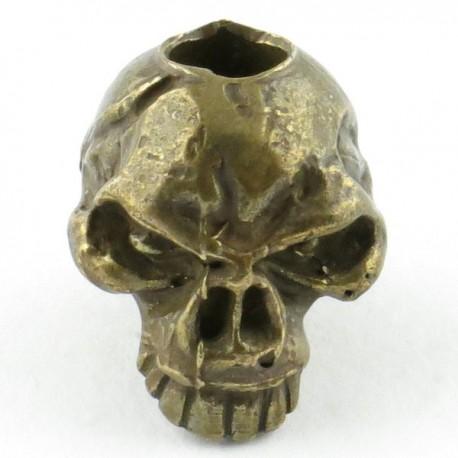 Tête de mort Emerson Bronze Massif Huilé