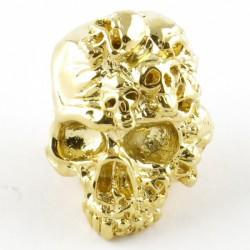 Tête de mort Mind 18K Gold