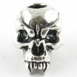 Tête de mort silver