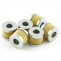 Perle spartan modèle 'X70' Gold inox