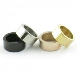 Perle inox 3*7mm trou 5mm