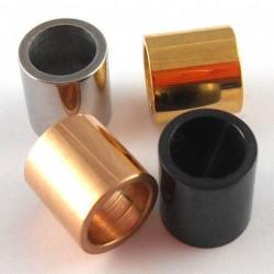 Perle tube inox 7*7mm