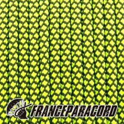 Paracord 550 - Yellow Neon Diamonds