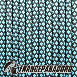 Paracord 550 - Turquoise Neon Diamonds
