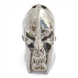 Spartan Skull Bead Hematite