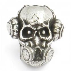 Brous Skull Bead Pewter