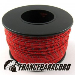 Paracord Micro - Reflective Red