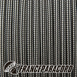 Paracord 550 - Silver Grey & Black Stripes