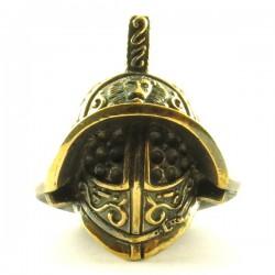 Samouraï Helmet Solid Bronze