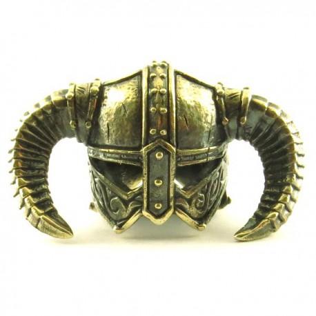 Casque Viking Bronze Massif