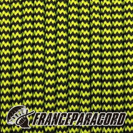 4988798965ca Paracord 550 - Neon Yellow   Black Shockwave