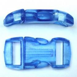 Boucle cristal 15mm bleu clair