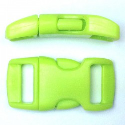 Curved Side Release Buckle 15mm Pistachio