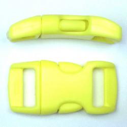 Boucle rapide 15mm jaune clair