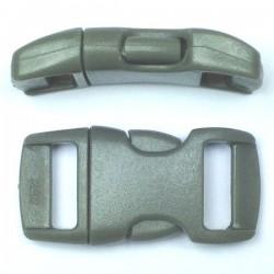 Boucle rapide 15mm gris foncé