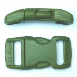 Boucle rapide 15mm vert militaire