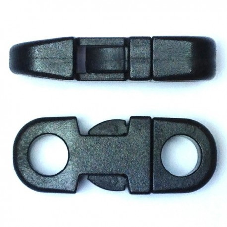 Flat Side Release Buckle Black