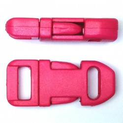 Straight Side Release Buckle 15mm Pink