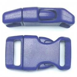 Curved Side Release Buckle 23mm Blue