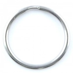 Stainless steel round split ring