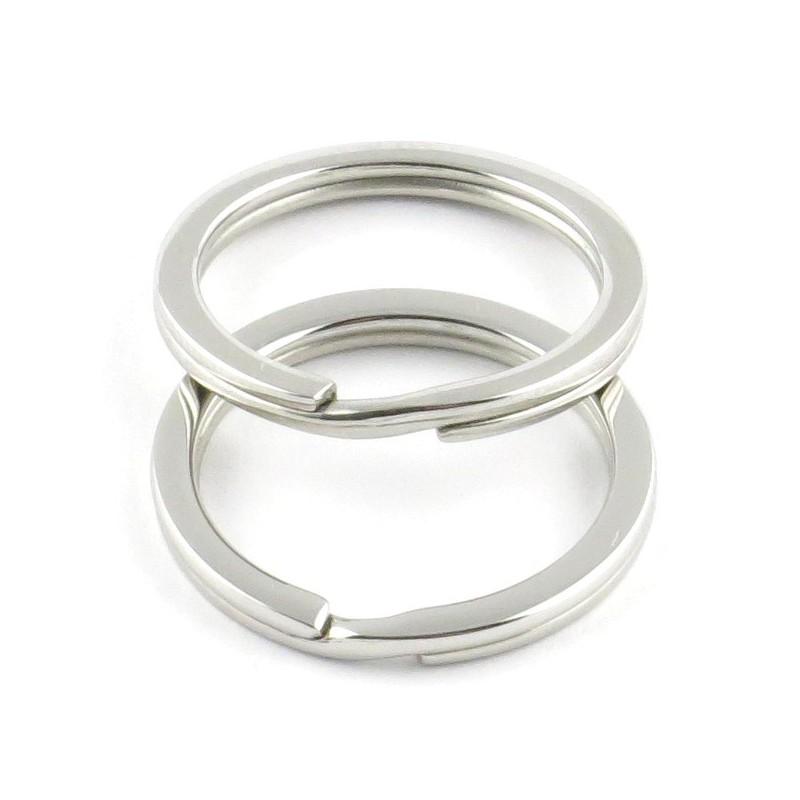 Stainless Steel Flat Split Rings