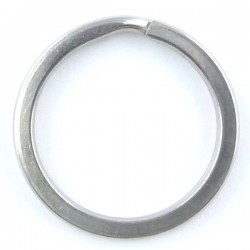 Stainless steel flat split ring