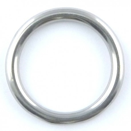 Stainless steel ring welded & polished