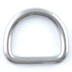 D ring welded & polished