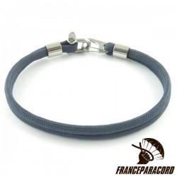 Bracelet with Mini D Shackle & Spring Snap