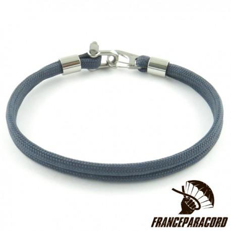 Bracelet Simple Avec Mini Manille & Mousqueton Clip