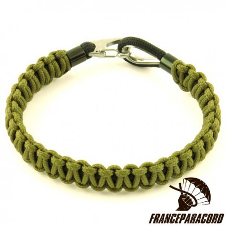 Cobra Type 100 Paracord Bracelet with Spring Snap & Thimble