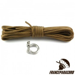 King Cobra Survival Bracelet Kit with Shackle