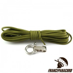 King Cobra Survival Bracelet Kit with Adjustable Shackle