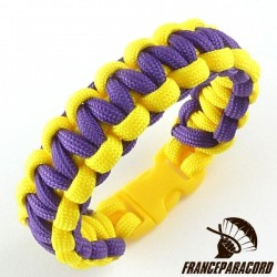 Cobra 2 colors Paracord Bracelet with Side Release Buckle