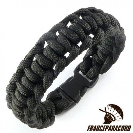 Half Hitch Paracord Bracelet with Side Release Buckle