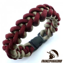 Shark Jaw 2 colors Paracord Bracelet with Side Release Buckle