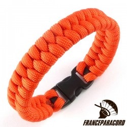 Switchback Paracord Bracelet with Side Release Buckle