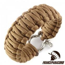 King Cobra Paracord Bracelet with Shackle