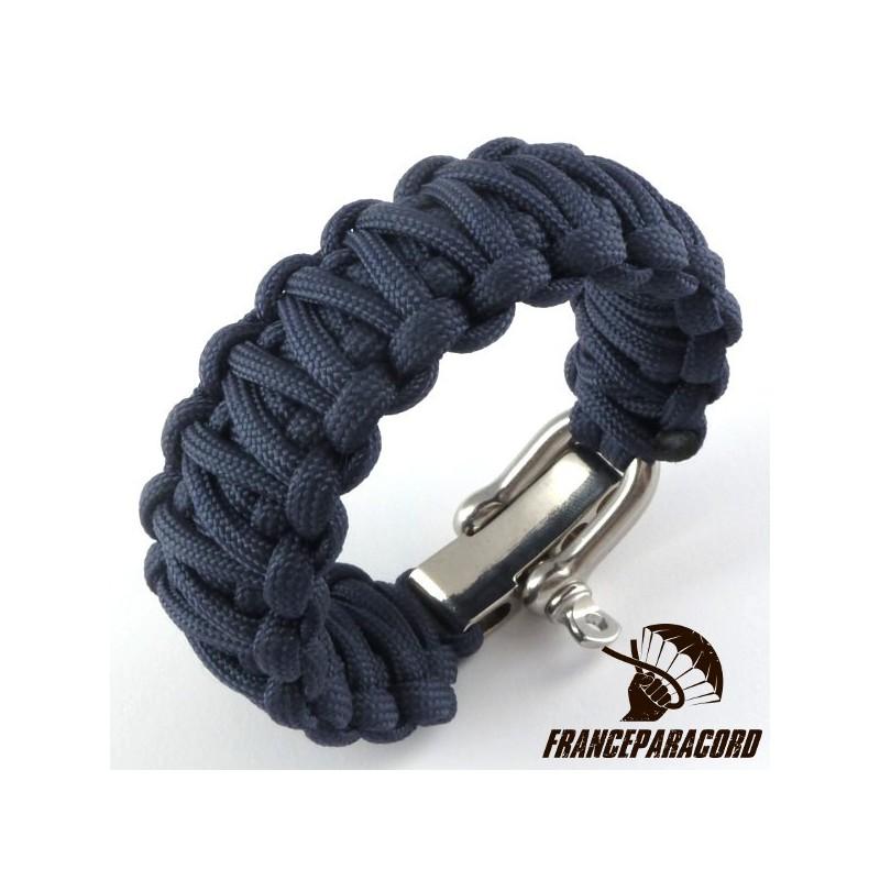 Bracelet Paracord King Cobra Uni Avec Manille R 233 Glable
