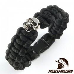 Cobra Bracelet With One Charm Skull & Side Release Buckle