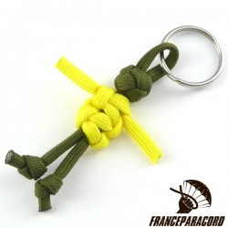 Paracord Guy Keyring