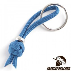 Diamond Knot With 4*9mm Bead Keyring