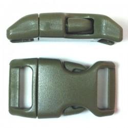 Curved Side Release Buckle 23mm Kaki