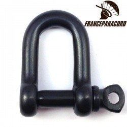 Stainless steel D shackle Black Oxide Finish