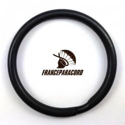 Stainless steel round split ring black oxide finish