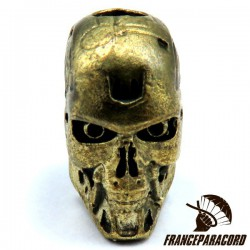 Anatomical Skull Solid Bronze